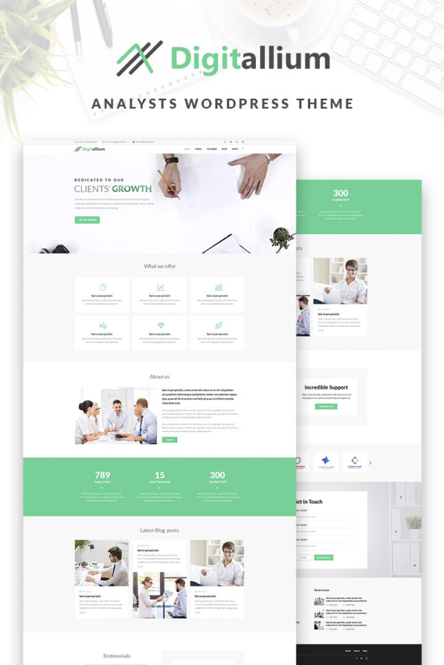 Website Template #66957 Business Management Merchant Custom Website Intended For Bookkeeping Website Templates
