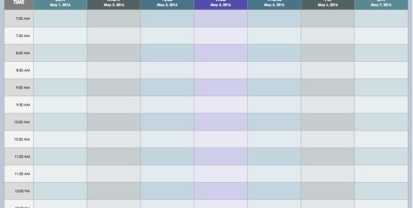 Weekly Employee Shift Schedule Template Excel | Resume Examples Throughout Employee Shift Schedule Template