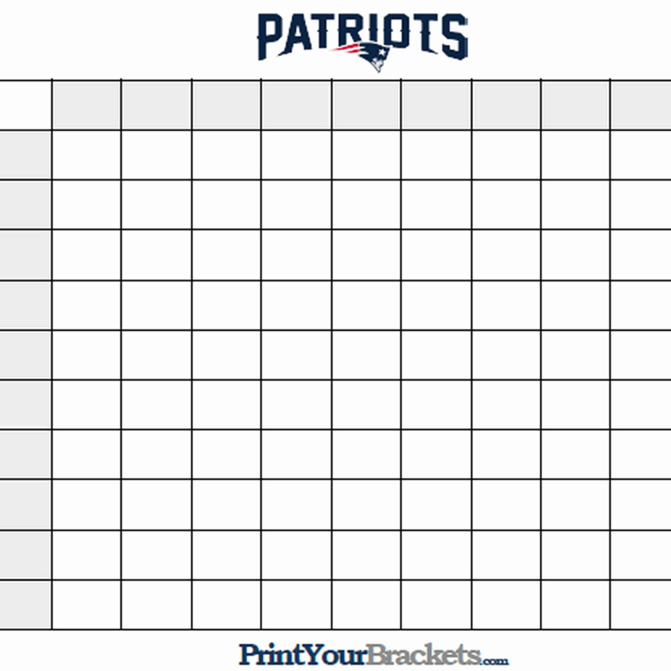 Weekly Football Pool Excel Spreadsheet Beautiful Super Bowl Squares In Super Bowl Spreadsheet Template