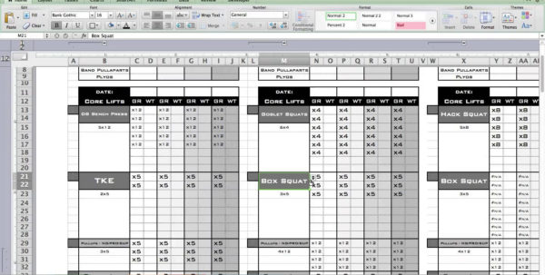 Weight Training Spreadsheet Template On Excel Spreadsheet Templates Within Training Spreadsheet Template
