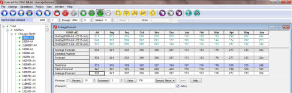 Welcome To Forecast Pro   Software For Sales Forecasting, Inventory To Quarterly Sales Forecast Template Excel