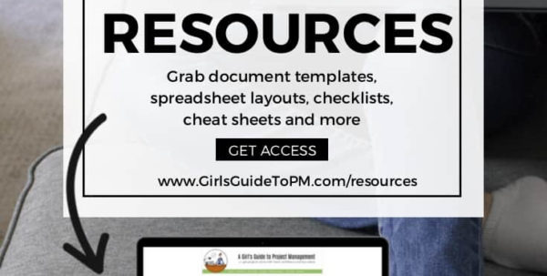 Welcome To The Resource Library • Girl's Guide To Project Management For Project Management Templates Free