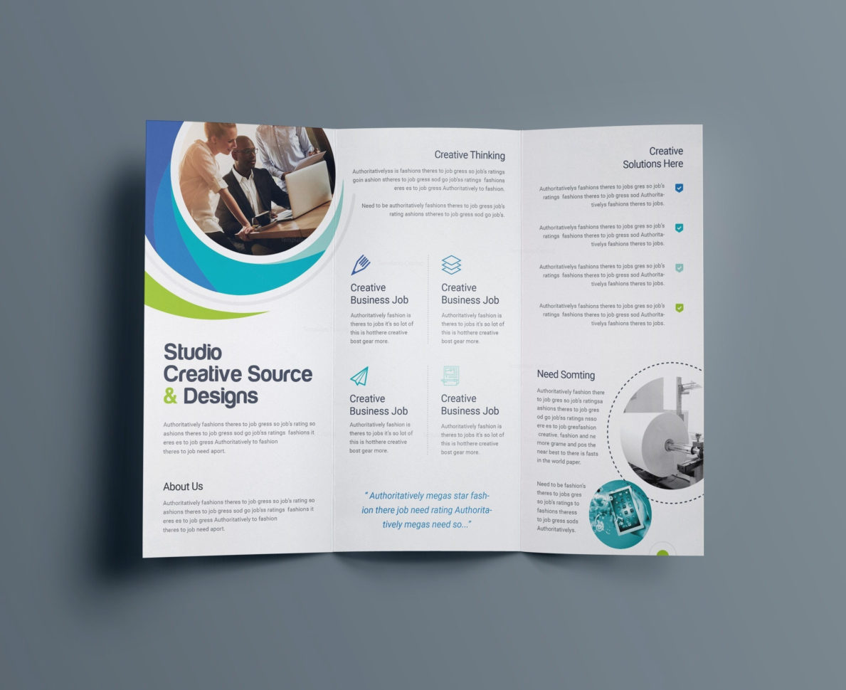 Word Brochure Template Free | Free Design Ideas Inside Bookkeeping Flyer Template
