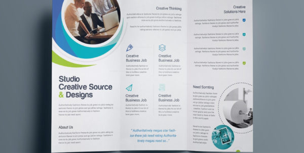 Word Brochure Template Free   Free Design Ideas Inside Bookkeeping Flyer Template