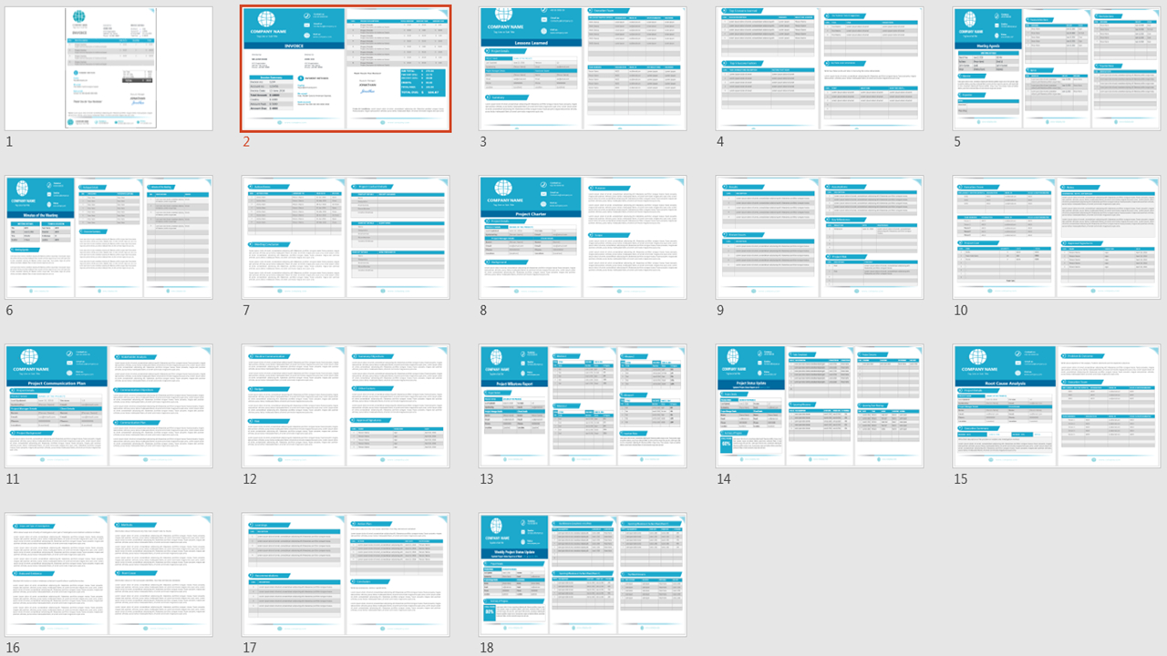 Word Templates From Analysistabs With Project Management Templates Word