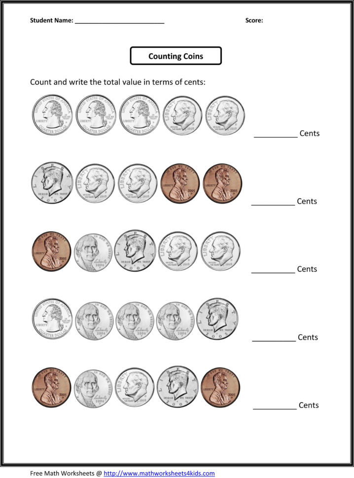 Worksheet Generator Coins Valid 4Th Grade Worksheets Fourth Grade With Worksheet Generator