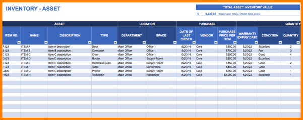 10  Inventory Tracking Spreadsheet | Credit Spreadsheet Throughout Inventory Tracking Spreadsheet