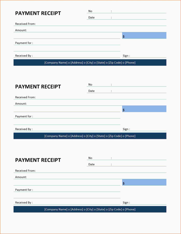 10  Payment Receipt Template | Pay Stubs Sample Template And Payment Invoice Template