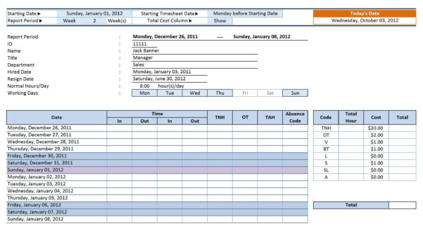 12 Employee Tracking Templates Excel Pdf Formats And Task Time And Excel Task Tracker Time Management Tool