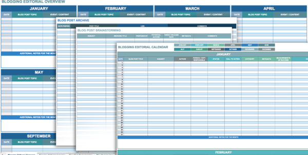 12 Free Social Media Templates   Smartsheet For Social Media Tracking Spreadsheet