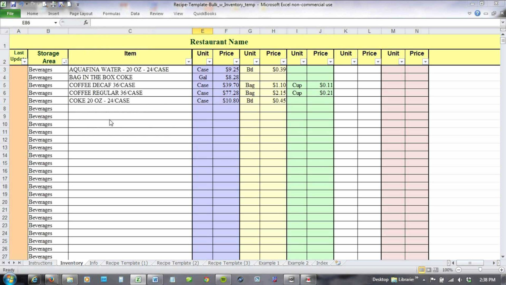 14 Best Of Inventory Tracking Spreadsheet Template Download Within Excel Template Inventory Tracking Download