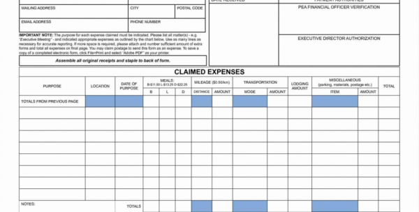 15  Awesome Business Trip Expense Report Template   Lancerules And Business Travel Expense Template