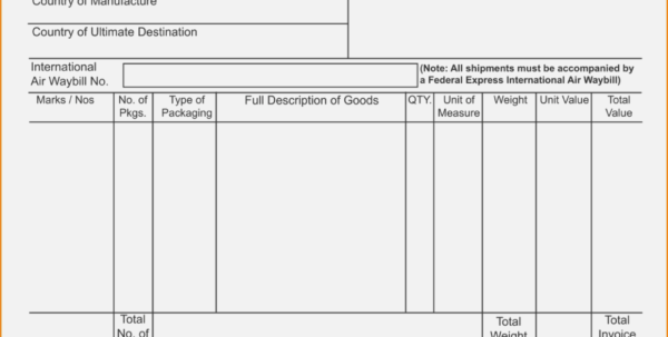 15 Fedex Pay Invoice | Simple Salary Slip With Fedex Invoice Fedex Throughout Fedex Invoice Fedex Invoice Expense Spreadsheet