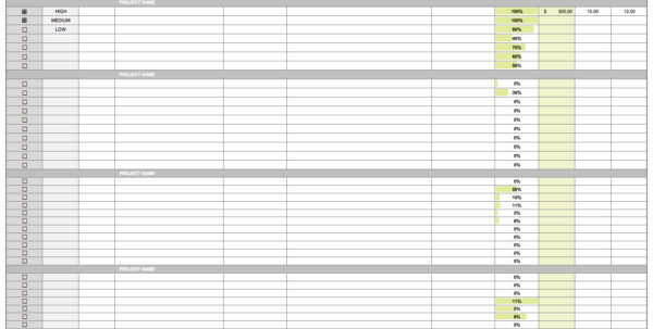15 Free Task List Templates   Smartsheet Within Project Management Task Tracking Template