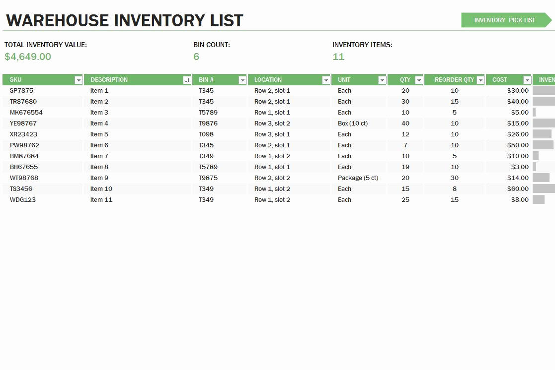 17 Beautiful Photograph Of Inventory Management Excel Template Free With Inventory Management System In Excel Free Download