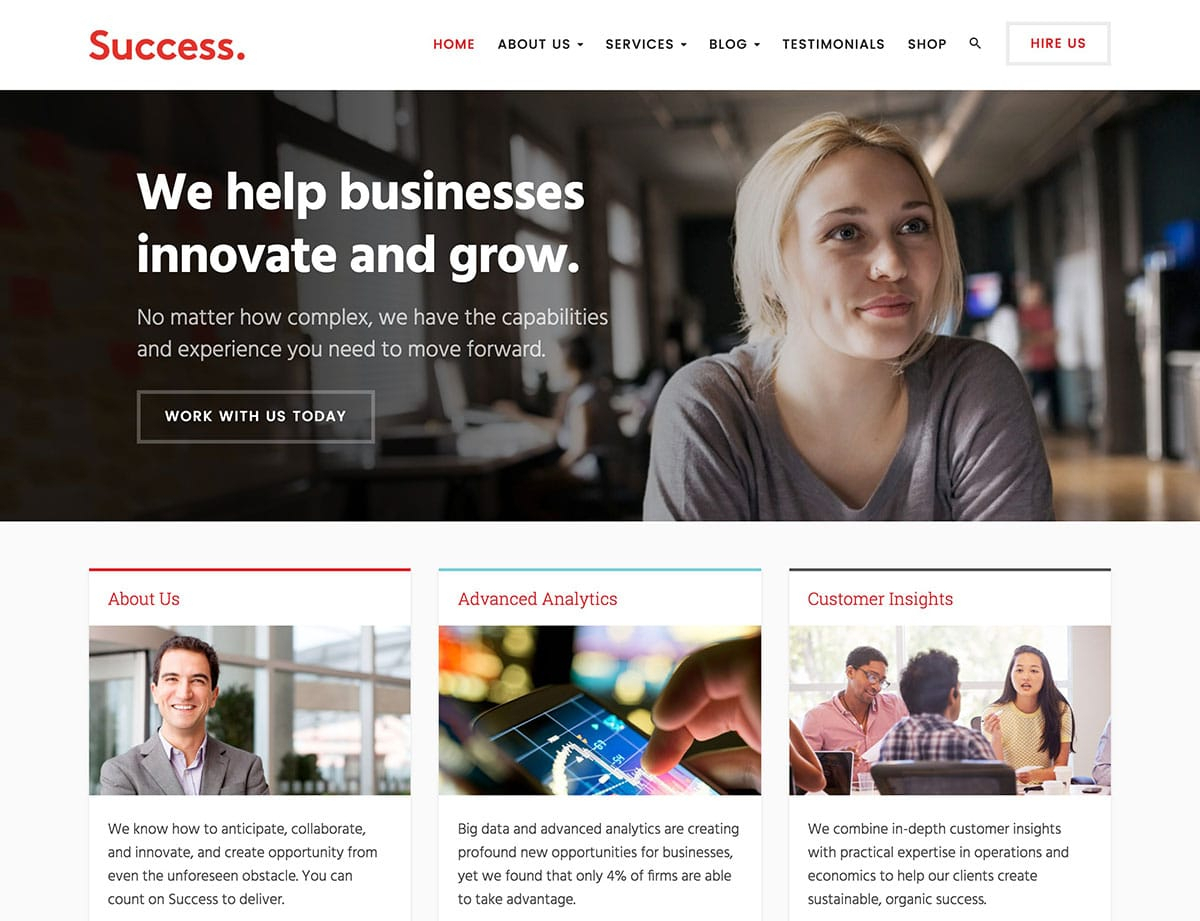 18  Best Financial Wordpress Themes 2018   Athemes Inside Accounting Website Templates Wordpress