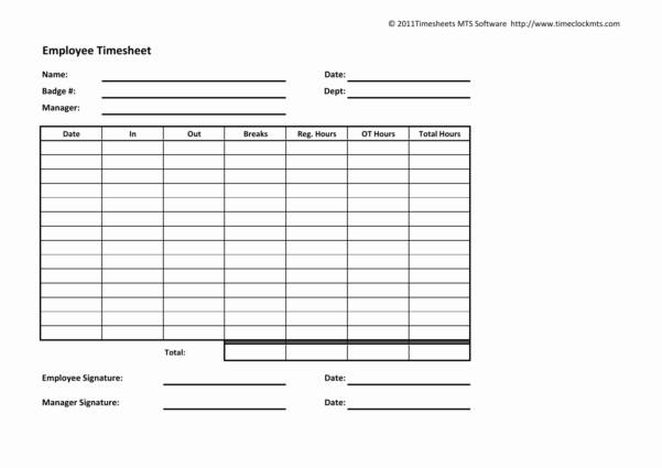 19 Memorable Free Timesheet Web Application Images   Time Sheets Within Employee Timesheet Spreadsheet