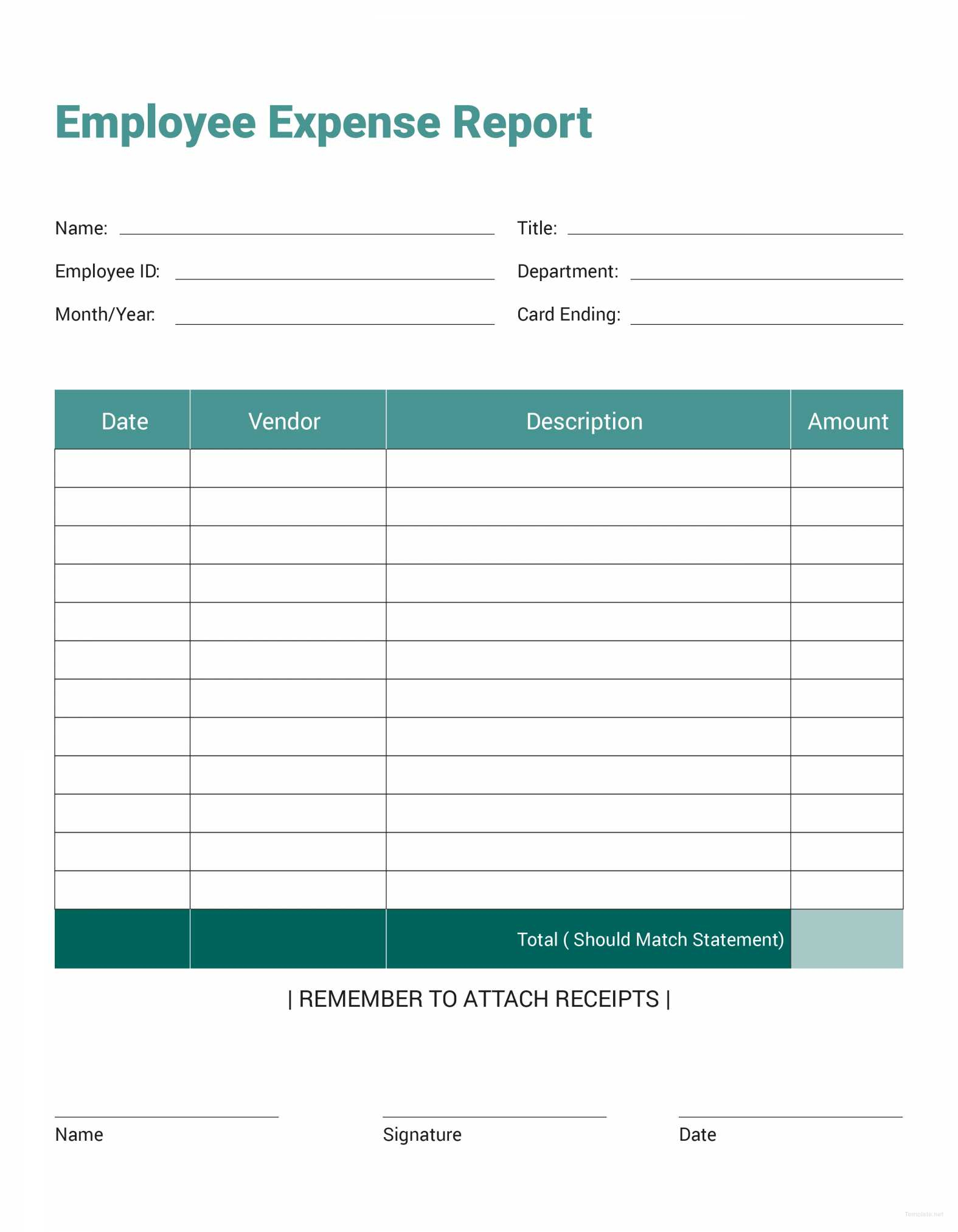 20  Awesome Employee Expense Report Template   Lancerules Worksheet Throughout Microsoft Expense Report Template
