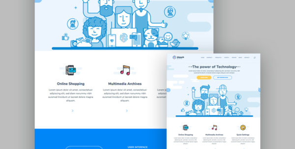 20 Best Responsive Html5 Website Design Business Templates Intended For Company Templates