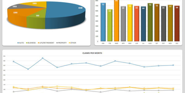 21 Best Kpi Dashboard Excel Template Samples For Free Download In Kpi Tracker Template