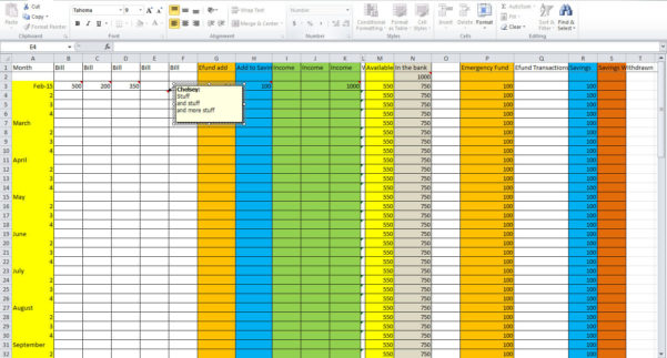 3 Essential Tips For Creating A Budget Spreadsheet   Tastefully Eclectic Throughout How To Make A Household Budget Spreadsheet