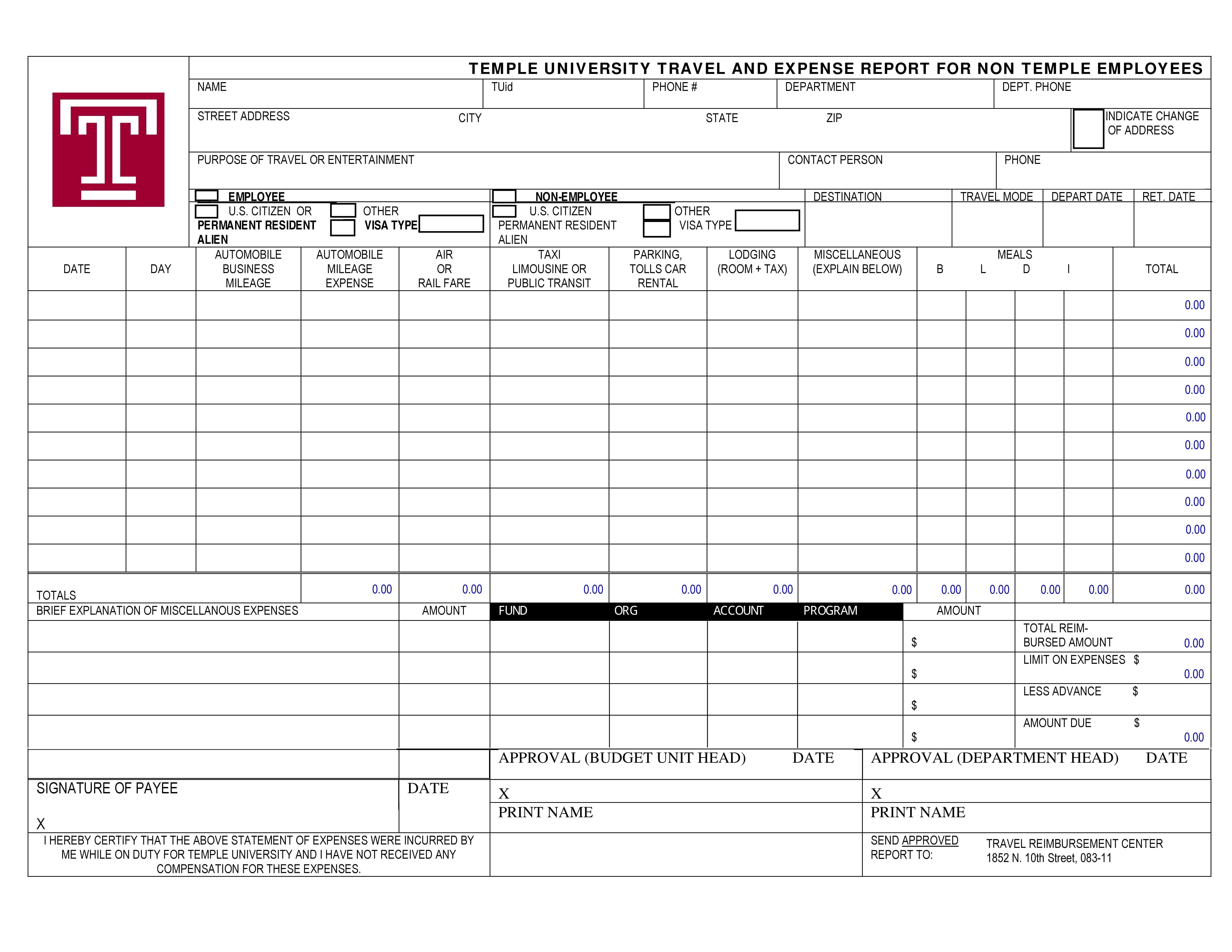 40  Expense Report Templates To Help You Save Money   Template Lab Intended For Detailed Expense Report Template Detailed Expense Report Template Expense Spreadshee Expense Spreadshee detailed expense report template