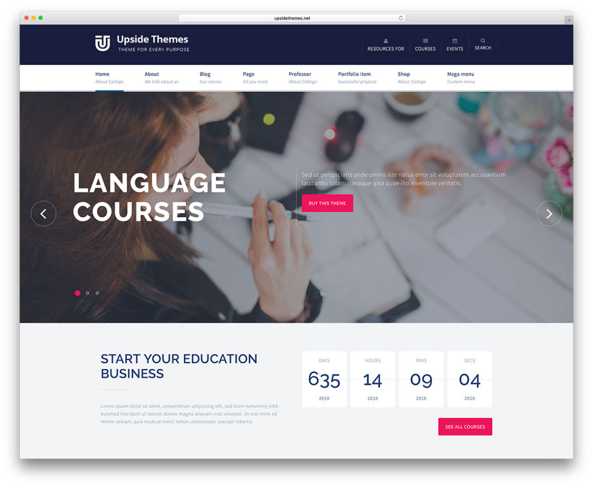 46 Awesome & Responsive Wordpress Education Themes 2018   Colorlib Intended For Accounting Website Templates Free Download