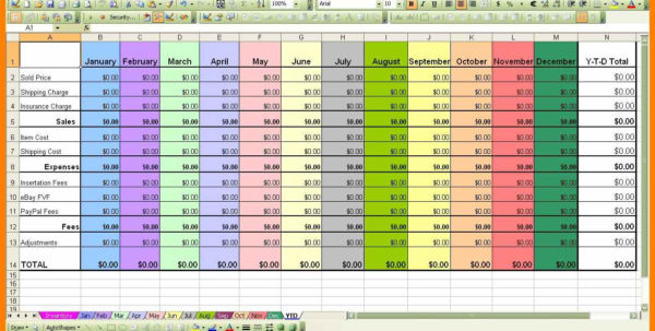 5  Excel Example Spreadsheets | Credit Spreadsheet For Example Of A Spreadsheet With Excel