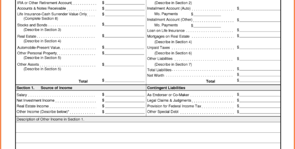 5 Small Business Financial Statement Template   Statement Synonym Throughout Income Statement Template For Small Business