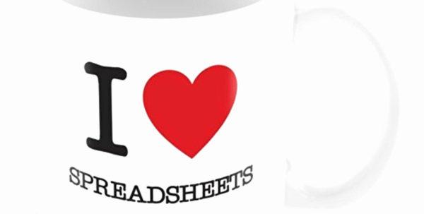 50 Best Of I Love Spreadsheets Mug   Documents Ideas   Documents Ideas For I Heart Spreadsheets Mug