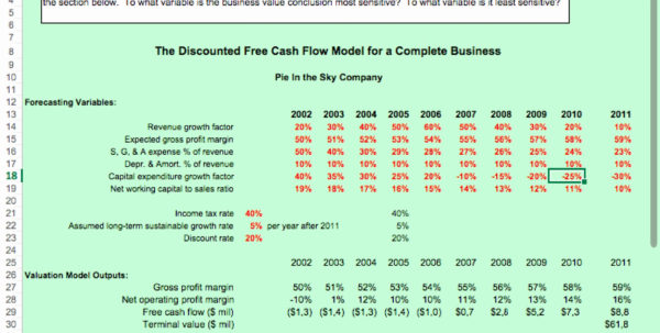 50 Fresh Small Business Valuation Template   Documents Ideas Within Business Valuation Spreadsheet