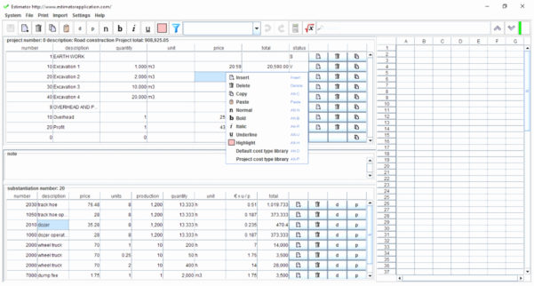 50 Lovely Earthwork Estimating Spreadsheet   Documents Ideas Intended For Earthwork Estimating Spreadsheet