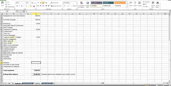 50 New Salon Accounting Spreadsheet   Document Ideas   Document Ideas And Basic Accounting Spreadsheet Template