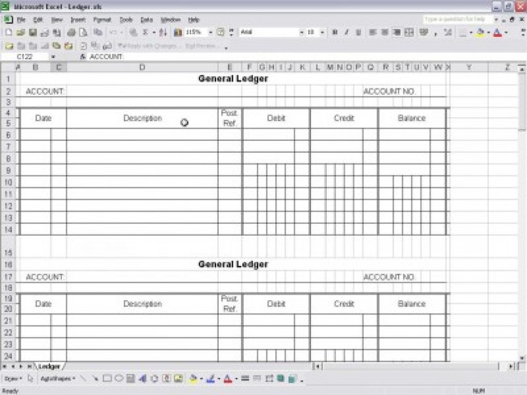 54 Small Business Accounting Ledger Template Primary – Markposts With Excel Accounting Ledger Template