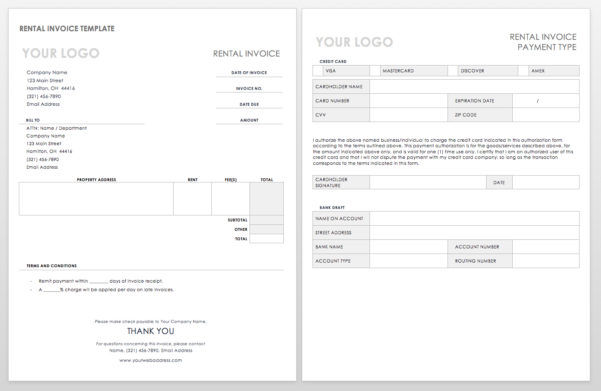 55 Free Invoice Templates | Smartsheet To Payment Invoice Template