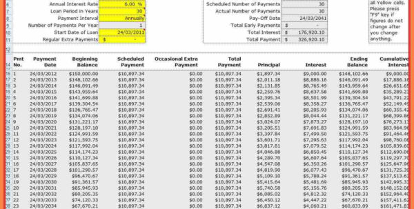 6  Amortization Table Spreadsheet | Monaco Grand Prix Ticket In Home Loan Spreadsheet