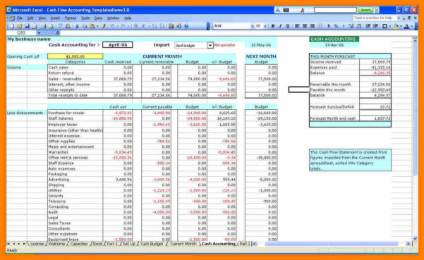 6  Small Business Accounts Spreadsheet Template | Credit Spreadsheet Throughout Accounting Spreadsheet Templates For Small Business