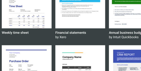 7  Free Small Business Budget Templates | Fundbox Blog With Small Business Budget Templates