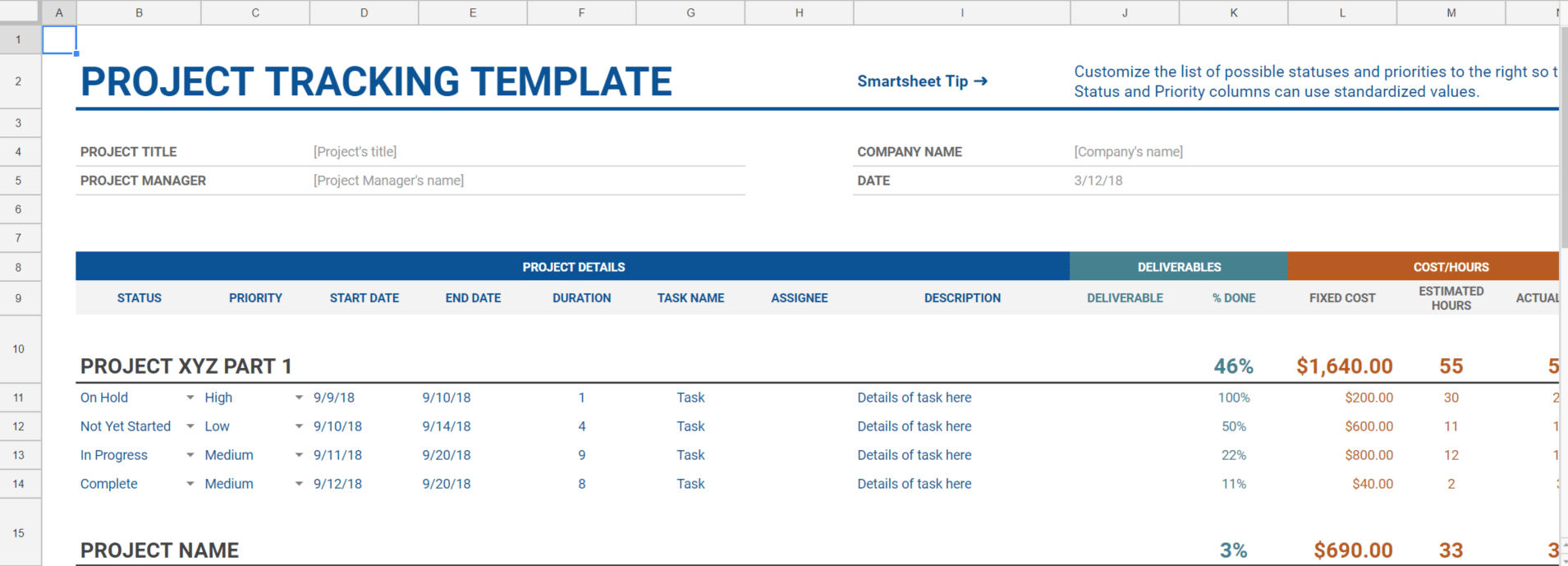 7 Google Sheet Templates For Real Estate Businesses With Estate Planning Spreadsheet