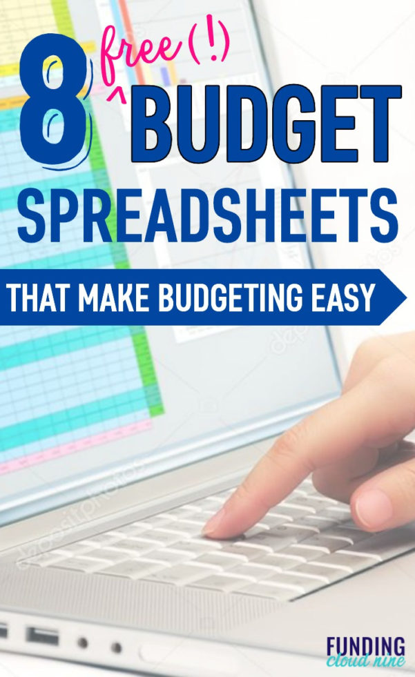 8 Free Budget Spreadsheets That Will Upgrade Your Finances Today With Budget Spreadsheets Free