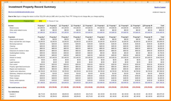 8  Landlord Spreadsheet Free | Credit Spreadsheet In Landlord Spreadsheet Free