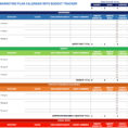 9 Free Marketing Calendar Templates For Excel   Smartsheet With Marketing Tracking Spreadsheet
