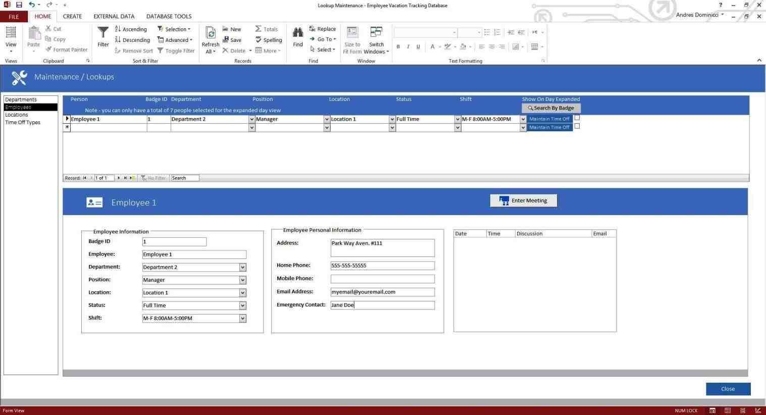 Access Customer Database Template | Monfilmvideo Intended For Customer Database Template Access