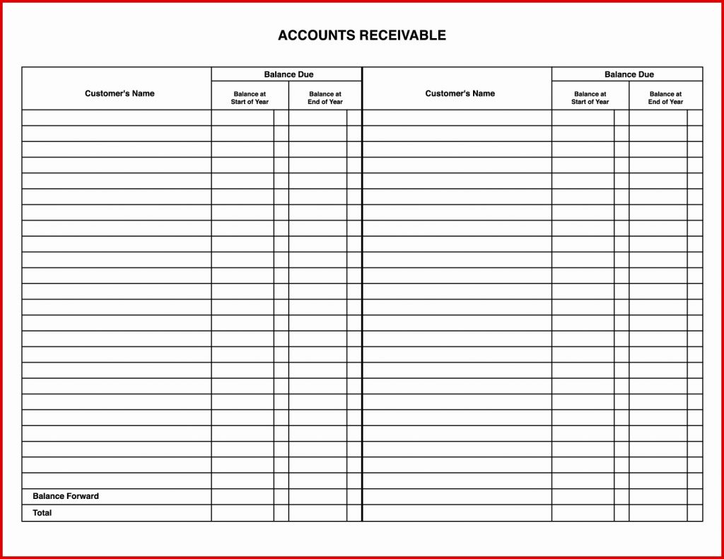 Account Payable Spreadsheet Lovely Accounts Receivable Template With Free Accounts Payable Templates