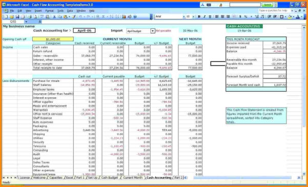 Account Templates For Small Business   Durun.ugrasgrup Inside Small Business Accounting Template Excel