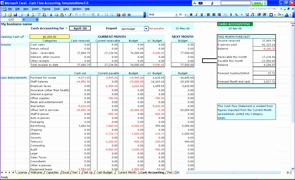 Accounting Formats In Excel Free Download Filename | Down Town Ken More In Free Excel Accounting Templates Download