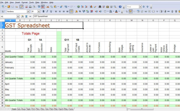 Accounting Spreadsheet Templates For Small Business Australia With Accounting Spreadsheet Template Australia