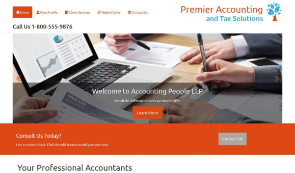 Accounting Website Design, Accounting Website Template As Well As For Chartered Accountant Website Templates Free Download