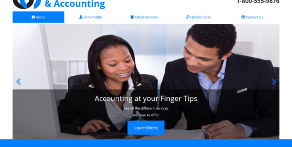 Accounting Website Template, Accounting Website Design Intended For Chartered Accountants Website Templates