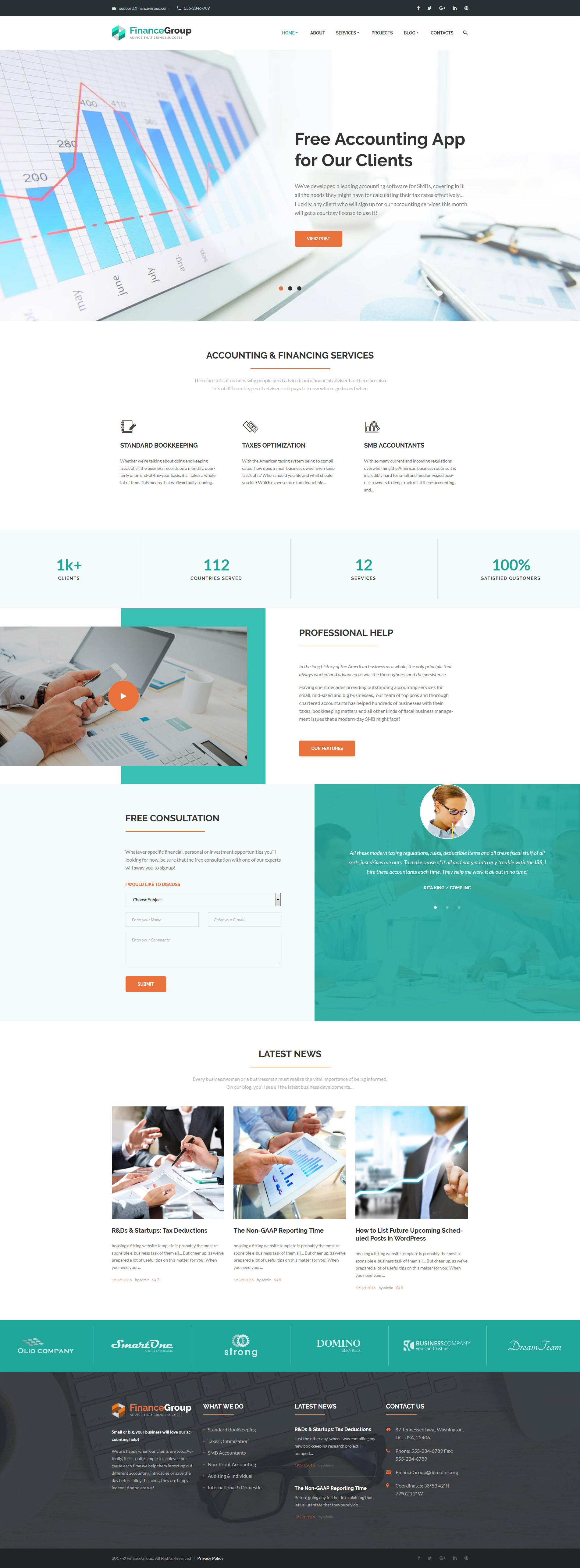 Accounting Website Templates Archives   Zemez Wordpress Inside Accounting Website Templates Wordpress
